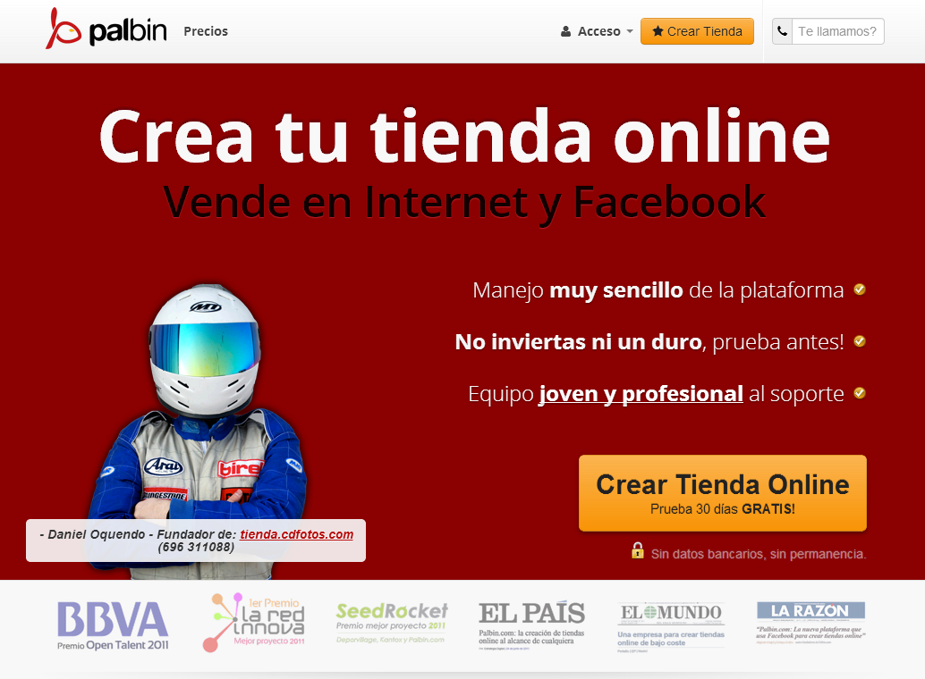 captura web palbin