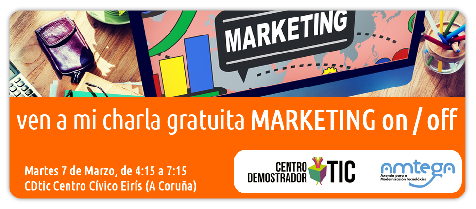 MDI ven charla gratuita marketing on off digital